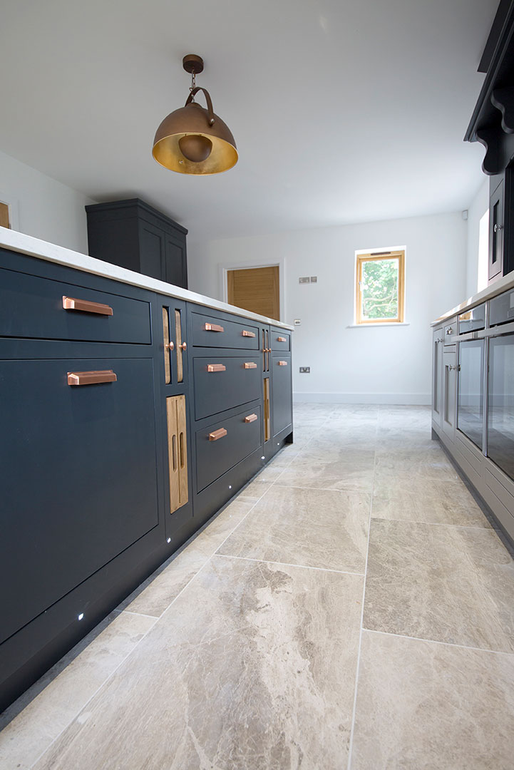 Silver Cloud Brushed Limestone Tiles